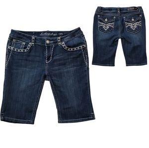 L.A. idol USA Jean Shorts